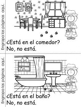 ¿Dónde está Max? Spanish Emergent Reader
