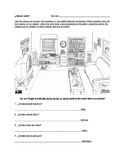 ¿Dónde está? - Spanish Prepositions of Location Worksheet