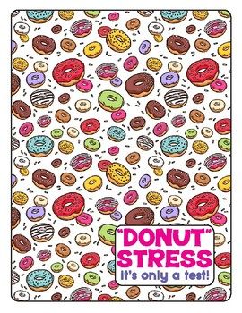 """Donut Stress"" Testing Cover Sheet"