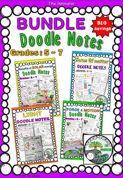 """Doodle Notes"" – BUNDLE!!"