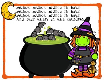"""Double Double Toil and Trouble""  Interactive Halloween Story"