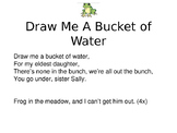 """Draw Me A Bucket of Water"" Folk Song"