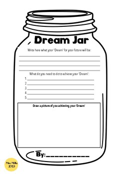 Dream Jar Worksheets Teaching Resources Teachers Pay Teachers