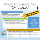 """""""Dreams"""" Paired Document Set - African American History"""