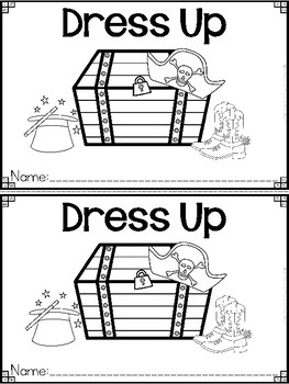 """Dress Up"" A May/Spring Emergent Reader and Response Dollar Deal"