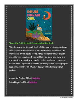 """Drum Dream Girl"" GA Picture Book Award Nominee 2016-2017"