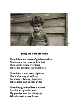 """""""Dusty the Road He Walks"""" Tribute to Lewis Hine [A Poem]"""