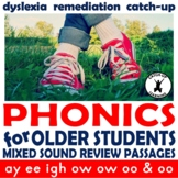 {Dyslexia Worksheets} {decodable passages} DISTANCE LEARNING