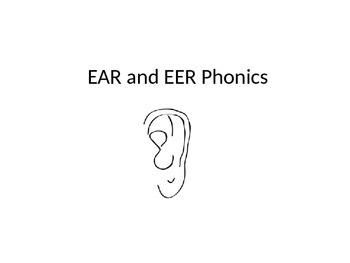 -EAR and -EER Spelling