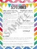 *EDITABLE* 10 month newsletters
