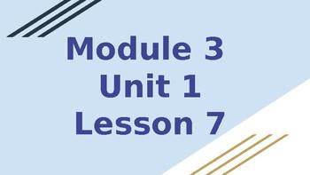 *EDITABLE* 4th Grade EL Module 3 Unit 1 (SECOND HALF ONLY)