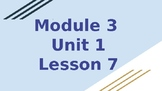 *EDITABLE* 4th Grade EL Module 3 Unit 1 (SECOND HALF ONLY)