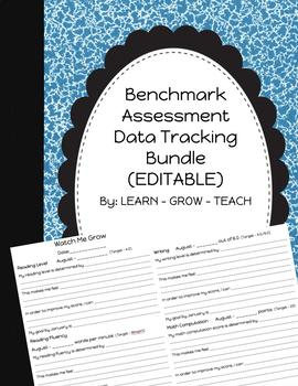 *EDITABLE* Benchmark Assessment Data Tracking ~Bundle~