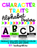 *EDITABLE* Character Traits Alphabet