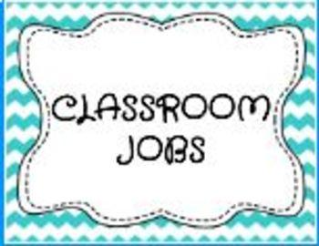*EDITABLE* Classroom Jobs Posters