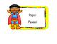 **EDITABLE** Classroom Jobs (Superhero Style)