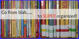 *EDITABLE* Classroom Library AR Book Labels