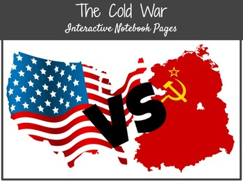 **EDITABLE** Cold War Interactive Notebook Pages
