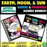 Digital Earth Moon and Sun Space Notebook Mega Bundle
