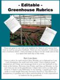 -EDITABLE- Greenhouse Work Rubrics