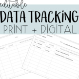 *EDITABLE* IEP Data Tracking Sheet