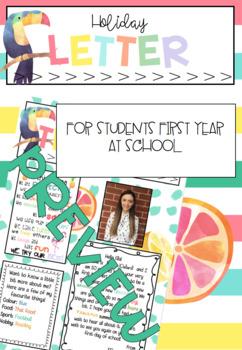 *EDITABLE* Meet the teacher letter