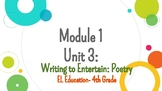 *EDITABLE* Module 1- Unit 3 EL Education Grade 4