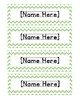 *EDITABLE* Name Tags