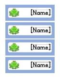 *EDITABLE* Name Tags