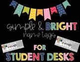 *EDITABLE* Name Tags for Student Desks