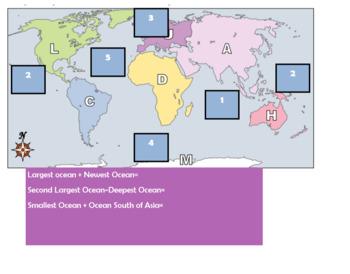{EDITABLE}  Oceanography Escape Room Lesson/Breakout Lesson