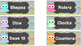 *EDITABLE* Pastel and Chevron Owl Classroom Labels