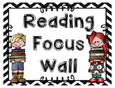 {EDITABLE} Reading Focus Wall OR LABELS - 24 labels w/ adorable Melonheadz kids.