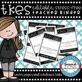 *EDITABLE* Teacher Keys Effectiveness System (TKES) Cover