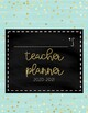 {EDITABLE} Teacher Planner 2017-2018 [Gold Foil]