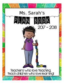 {EDITABLE} Teacher Planning Book