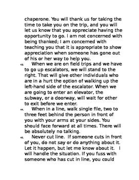 *EDITABLE* The Essential 55 Parent Letter