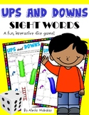 **EDITABLE** Ups and Downs Sight Word Game (Includes 200 Sight Words)