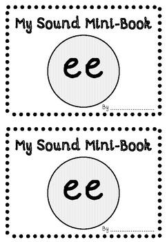 'EE' PHONIC SOUND MINI-BOOK