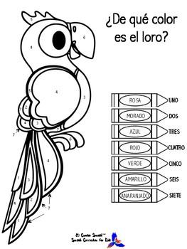 """EL LORO""  Fun Activity for ALL Spanish Students!"