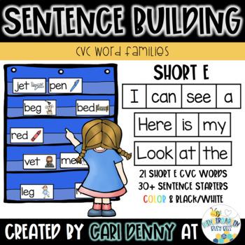 -EN Word Family Sentence Building