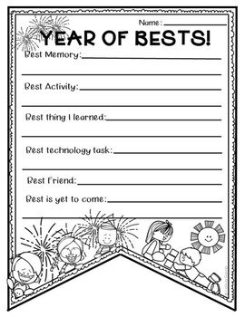 *END OF THE YEAR FREEBIE* Year of Bests