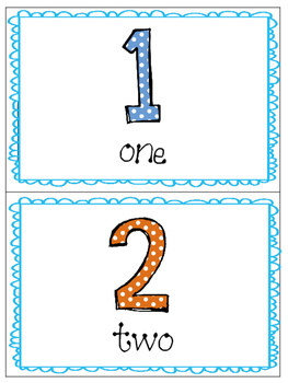 *Print and Play* Math Builders - Memory Games - Number Recognition 1-10