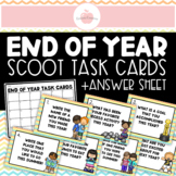 ***END OF YEAR REFLECTION SUMMER SCOOT AROUND THE ROOM ACTIVITY - ALL GRADES***