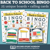 #ENDOFSUMMER Back to School Picture Bingo • First Day of School