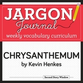 #ENDOFSUMMER Chrysanthemum Vocabulary - Back to School Vocabulary