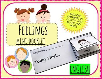 (ENGLISH) Mini-Booklet: Feelings
