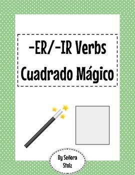 -ER/IR Verb Magic Square