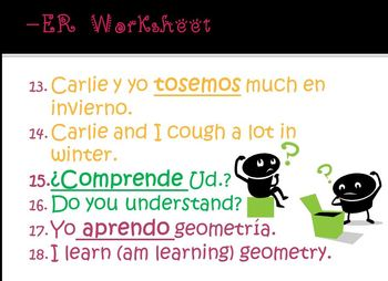 -ER Worksheet with PowerPoint