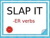 -ER verbs Slap it Game (Bien Dit 1)